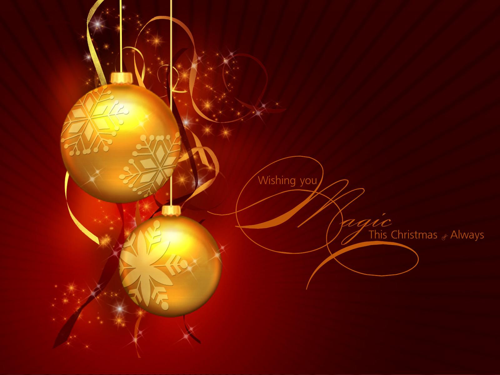 christmas balls background - photo #20