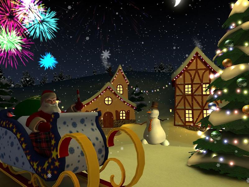 animated christmas wallpapers christmaswallpapers18 - Animated Christmas Screensavers