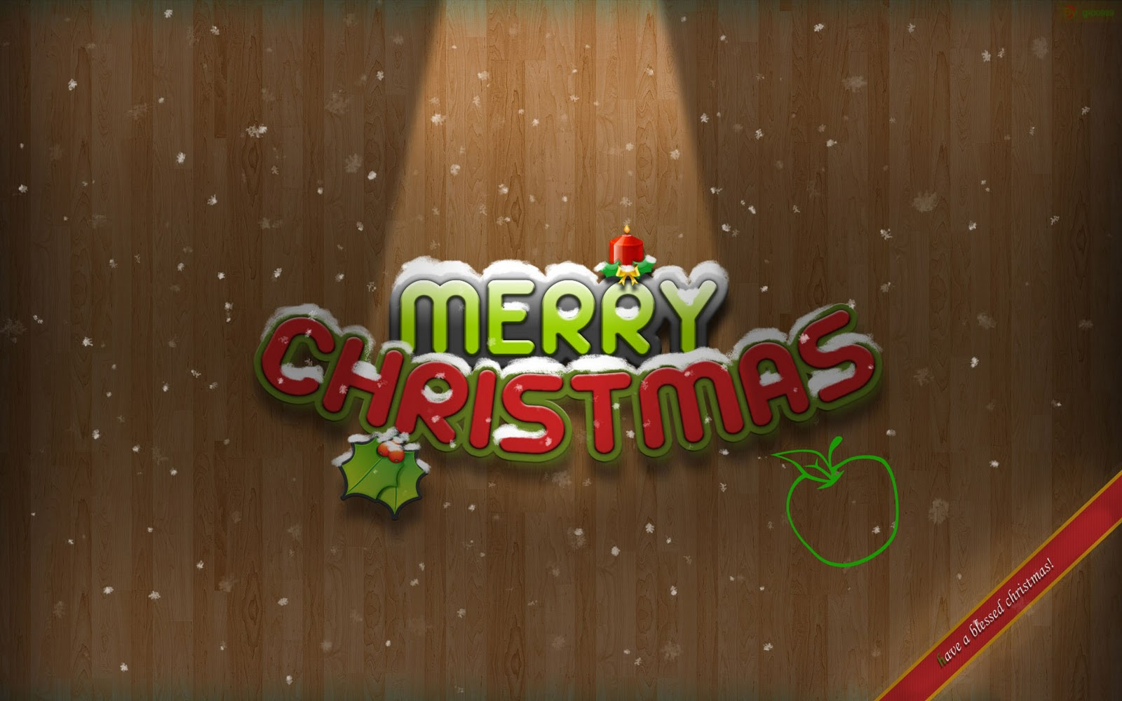 merry christmas desktop wallpaper free