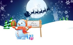 snowman-merry-christmas