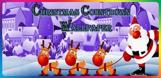 Christmas countdown wallpapers christmaswallpapers18 - How to make a countdown your wallpaper ...
