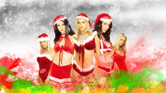 Christmas girls groups wallpapers