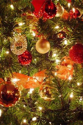happy christmas wallpaper for iphone