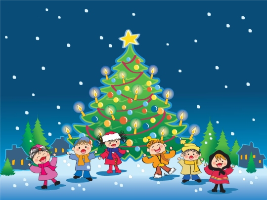 christmas wallpapers backgrounds for kids