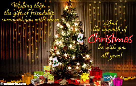 christmas wishing card 2013