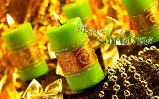 Best Merry Christmas candle wallpaper