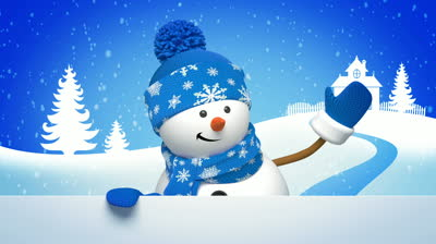 Snowman Wallpaper For Christmas Wishes