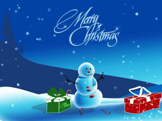 Snowman Wallpaper For Christmas Wishing