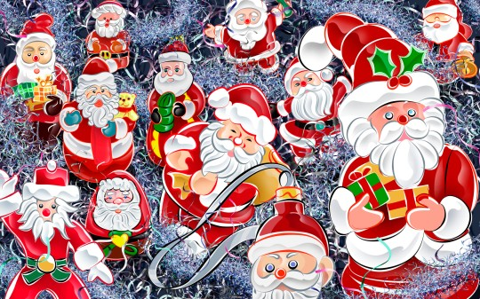 santa's wallpapers Group